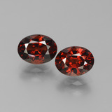 thumb image of 3.5ct Oval Facet Red Pyrope Garnet (ID: 451748)