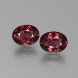 thumb image of 3.4ct Oval Facet Red Pyrope Garnet (ID: 451751)