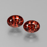 thumb image of 4ct Oval Facet Red Pyrope Garnet (ID: 451781)