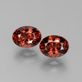 thumb image of 3.7ct Oval Facet Red Pyrope Garnet (ID: 451782)