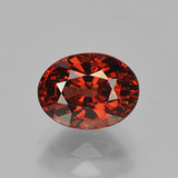 thumb image of 2.1ct Oval Facet Red Pyrope Garnet (ID: 451809)