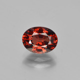 thumb image of 1.7ct Oval Facet Red Pyrope Garnet (ID: 451828)
