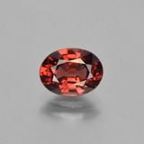 thumb image of 1.5ct Oval Facet Red Pyrope Garnet (ID: 451832)