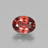thumb image of 1.5ct Oval Facet Red Pyrope Garnet (ID: 451867)