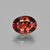 thumb image of 1.5ct Oval Facet Red Pyrope Garnet (ID: 451869)