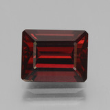 thumb image of 4.9ct Octagon Step Cut Red Pyrope Garnet (ID: 451892)