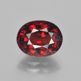 thumb image of 3.7ct Oval Facet Red Pyrope Garnet (ID: 451913)