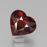 thumb image of 3.2ct Heart Facet Red Pyrope Garnet (ID: 451926)