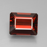 thumb image of 4.1ct Octagon Step Cut Red Pyrope Garnet (ID: 451962)
