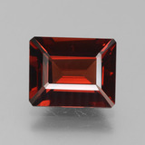 thumb image of 4ct Octagon Step Cut Red Pyrope Garnet (ID: 451971)