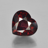 thumb image of 3.7ct Heart Facet Red Pyrope Garnet (ID: 452008)