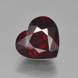 thumb image of 3.5ct Heart Facet Red Pyrope Garnet (ID: 452016)