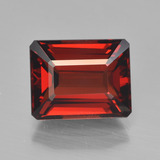 thumb image of 4.5ct Octagon Step Cut Red Pyrope Garnet (ID: 452040)