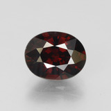 thumb image of 3.3ct Oval Facet Red Pyrope Garnet (ID: 452053)