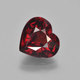 thumb image of 3.4ct Heart Facet Red Pyrope Garnet (ID: 452078)