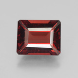 thumb image of 4.2ct Octagon Step Cut Red Pyrope Garnet (ID: 452081)