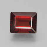 thumb image of 4.7ct Octagon Step Cut Red Pyrope Garnet (ID: 452083)