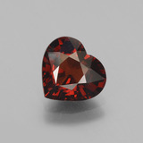thumb image of 2.5ct Heart Facet Red Pyrope Garnet (ID: 452105)