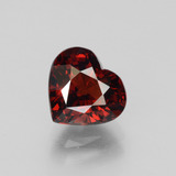thumb image of 2.9ct Heart Facet Red Pyrope Garnet (ID: 452109)