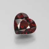 thumb image of 2.7ct Heart Facet Red Pyrope Garnet (ID: 452111)