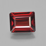 thumb image of 3.8ct Octagon Step Cut Red Pyrope Garnet (ID: 452119)