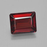 thumb image of 4.3ct Octagon Step Cut Red Pyrope Garnet (ID: 452122)