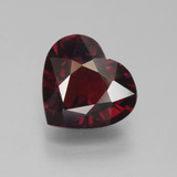 thumb image of 4.1ct Heart Facet Red Pyrope Garnet (ID: 452128)