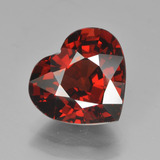 thumb image of 4.2ct Heart Facet Red Pyrope Garnet (ID: 452675)