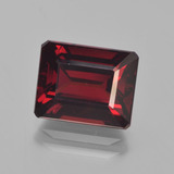 thumb image of 5ct Octagon Step Cut Red Pyrope Garnet (ID: 452893)
