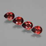 thumb image of 3.2ct Pear Facet Red Pyrope Garnet (ID: 452994)