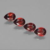 thumb image of 3ct Pear Facet Red Pyrope Garnet (ID: 452996)
