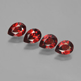 thumb image of 3.5ct Pear Facet Red Pyrope Garnet (ID: 452997)