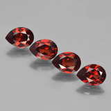 thumb image of 3.7ct Pear Facet Red Pyrope Garnet (ID: 453041)