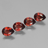 thumb image of 3.6ct Pear Facet Red Pyrope Garnet (ID: 453044)