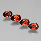 thumb image of 3.3ct Pear Facet Red Pyrope Garnet (ID: 453045)