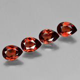 thumb image of 3.4ct Pear Facet Red Pyrope Garnet (ID: 453046)