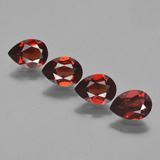 thumb image of 3.3ct Pear Facet Red Pyrope Garnet (ID: 453047)