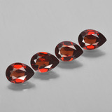 thumb image of 3ct Pear Facet Red Pyrope Garnet (ID: 453048)
