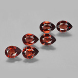 thumb image of 4.4ct Pear Facet Red Pyrope Garnet (ID: 453052)