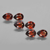 thumb image of 4.7ct Pear Facet Red Pyrope Garnet (ID: 453053)
