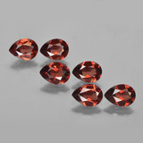thumb image of 4.6ct Pear Facet Red Pyrope Garnet (ID: 453057)