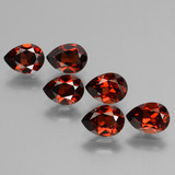 thumb image of 5.7ct Pear Facet Red Pyrope Garnet (ID: 453064)