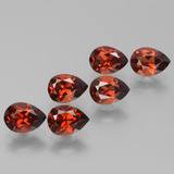thumb image of 5.6ct Pear Facet Red Pyrope Garnet (ID: 453073)