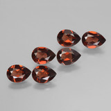 thumb image of 4.6ct Pear Facet Red Pyrope Garnet (ID: 453133)
