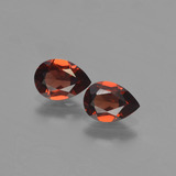 thumb image of 1.6ct Pear Facet Red Pyrope Garnet (ID: 453195)