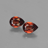 thumb image of 1.6ct Pear Facet Red Pyrope Garnet (ID: 453206)