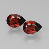 thumb image of 1.7ct Pear Facet Red Pyrope Garnet (ID: 453265)