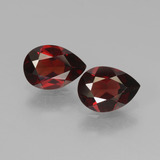 thumb image of 1.7ct Pear Facet Red Pyrope Garnet (ID: 453266)