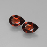 thumb image of 1.5ct Pear Facet Red Pyrope Garnet (ID: 453342)