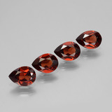 thumb image of 3.2ct Pear Facet Red Pyrope Garnet (ID: 453370)